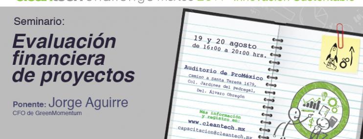 """CTCM2014: Taller """"Evaluación Financiera de Proyectos"""""""