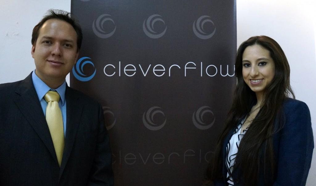 Carlos Espinosa y Victoria Tagle de Cleverflow b