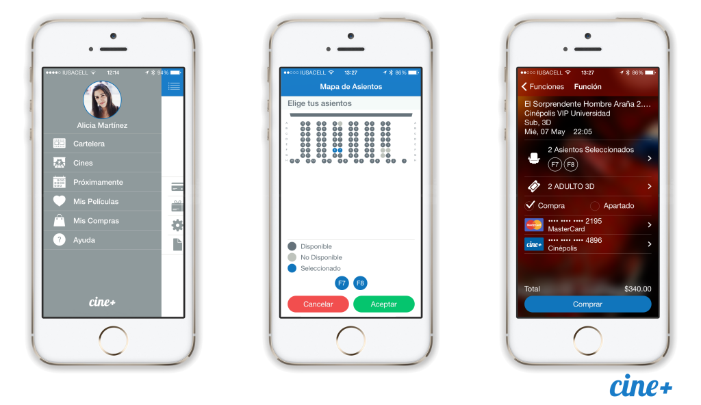 Screenshot group iOS