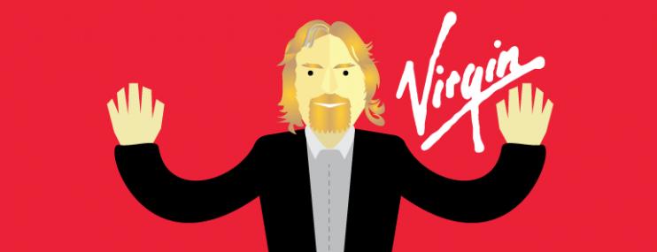 Infografía: 5 Reglas De Richard Branson