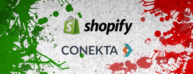 Llegan Conekta y Shopify a México