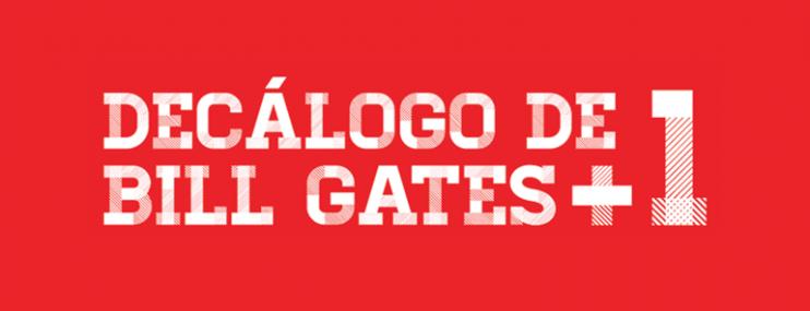 Infografía: Decálogo de Bill Gates