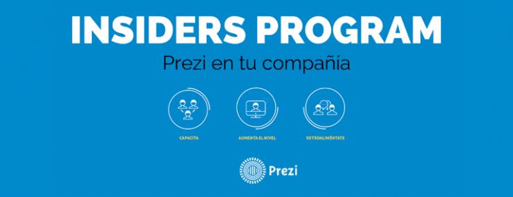 Insiders Program: La Plataforma De Prezi Que Permite Capacitar