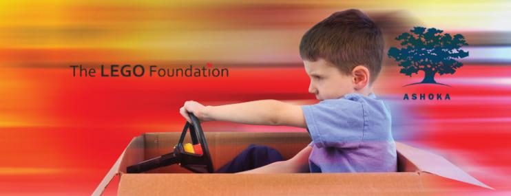 """Inscríbete: """"Jugar Y Aprender"""" por Ashoka y Fundación LEGO"""