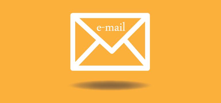 trabajar con email