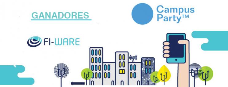 FI-WARE y Campus Party: Ganadores Smart Cities y Smart Business & Industry