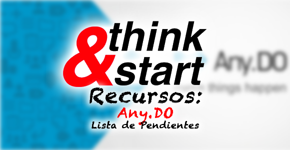 'Any.Do' Lista de pendientes en diversas plataformas.